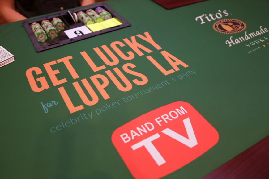 Get Lucky for Lupus LA Celebrity Poker Tournament And Party