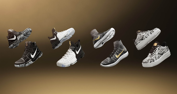 4c58b720fe26c One of Nike s most coveted and anticipated collections is back again. The  Black History month collection is probably Nike s most prestigious  collection ...